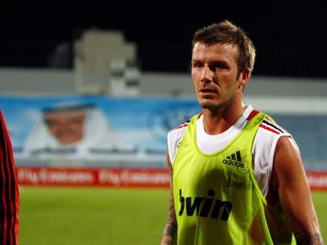 On This Day in 2008: AC Milan confirm David Beckham loan signing