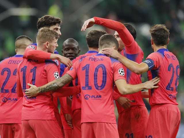 Result: Impressive Chelsea put four past Krasnodar in Champions League